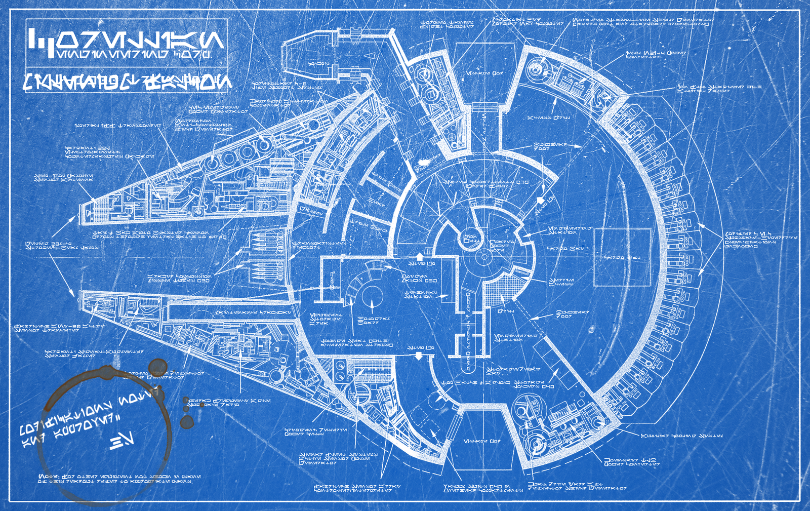 Millenium-Falcon-Blueprint-Cool-HD – AOA FITNESS